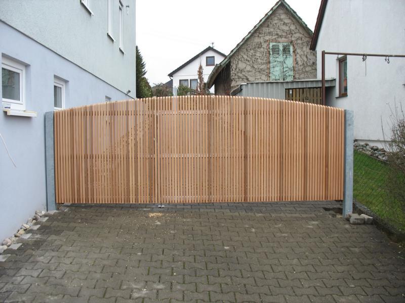 Gartentor Aus Holz In Eigenproduktion ~ Name IMG 7622 JPG Format 430 x 322Größe 82 KB